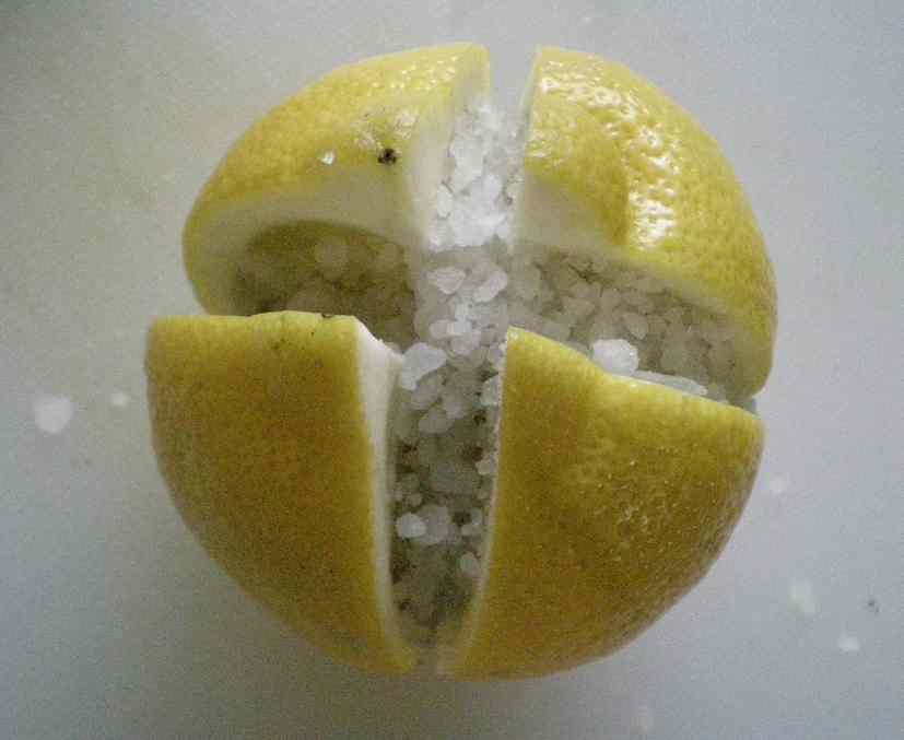citron confit au sel food for you. Black Bedroom Furniture Sets. Home Design Ideas