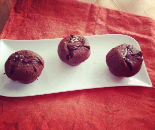 Gâteau fondant au chocolat et au sésame